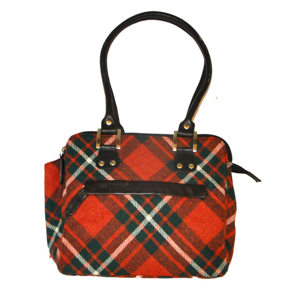 Sheila Bag in MacGregor Tweed & Leather