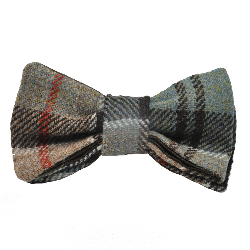 Bowtie in Weathered Colquhoun Tartan Tweed by Clare O'Neill
