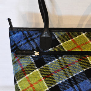 Fay Bag in Ancient Colquhoun Tartan Tweed