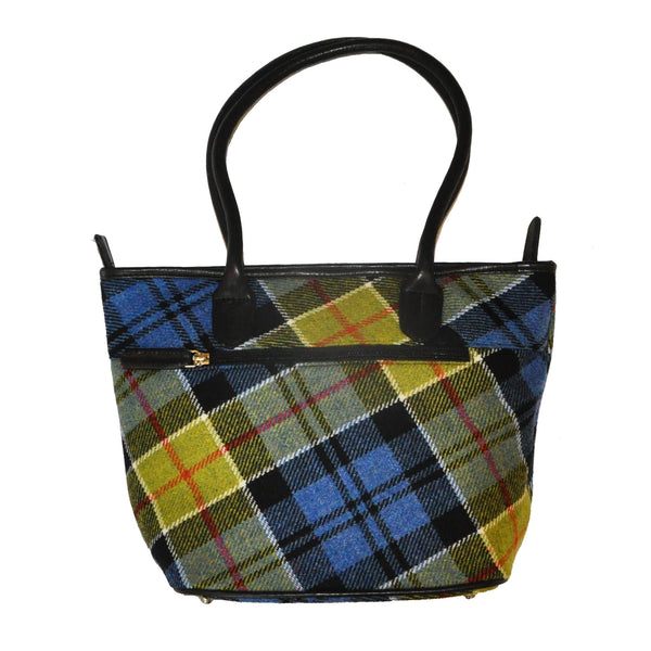 Fay Bag in Ancient Colquhoun Tweed & Leather