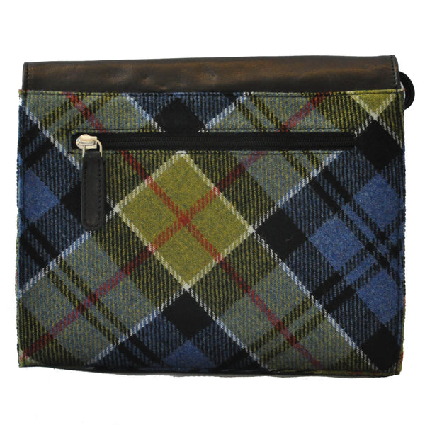 Heather Bag in Ancient Colquhoun Tweed & Leather