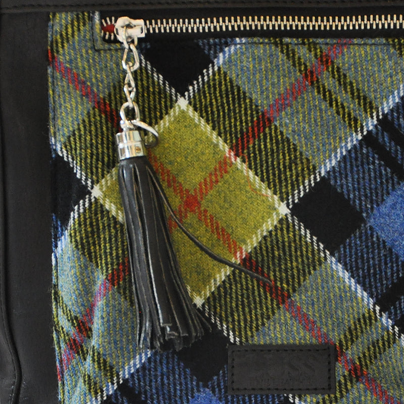 Iona Satchel in Ancient Colquhoun Tweed & Leather