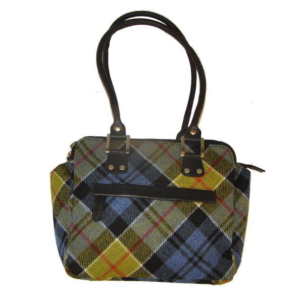 Sheila Bag in Ancient Colquhoun Tweed & Leather