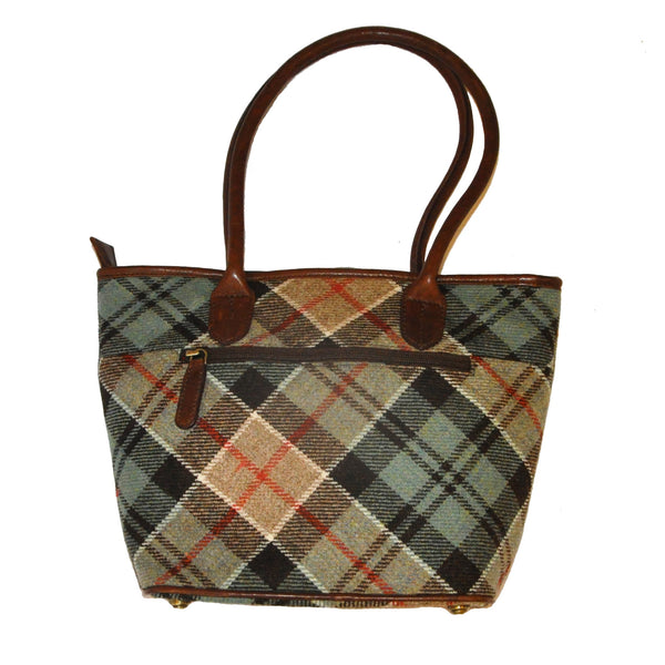Fay Bag in Weathered Colquhoun Tweed & Leather