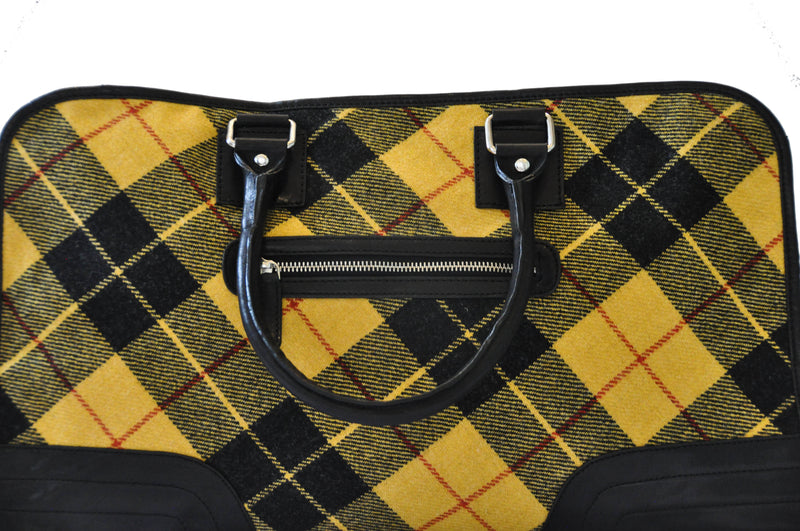 Holdall in MacLeod Tweed & Leather