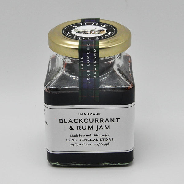 Blackcurrant and Rum Jam by Fyne Preserves