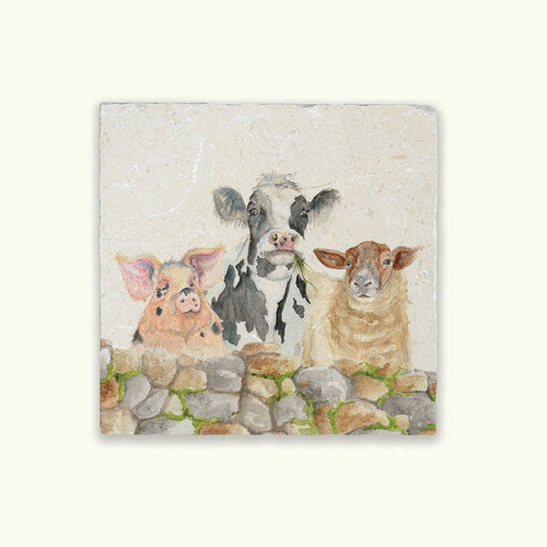 Farmyard Marble Kitchenware
