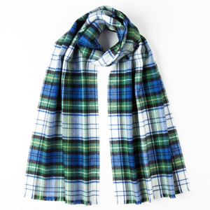 Extra Fine Merino Scarf by Johnston's of Elgin in Campbell Tartan
