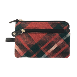 Key and Coin Case in MacGregor Tartan Tweed - Luss General Store