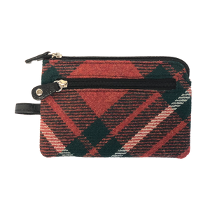 Key & Coin Case in MacGregor Tweed