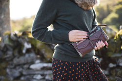 Ricky Bag in Weathered Colquhoun Tweed & Leather - Luss General Store