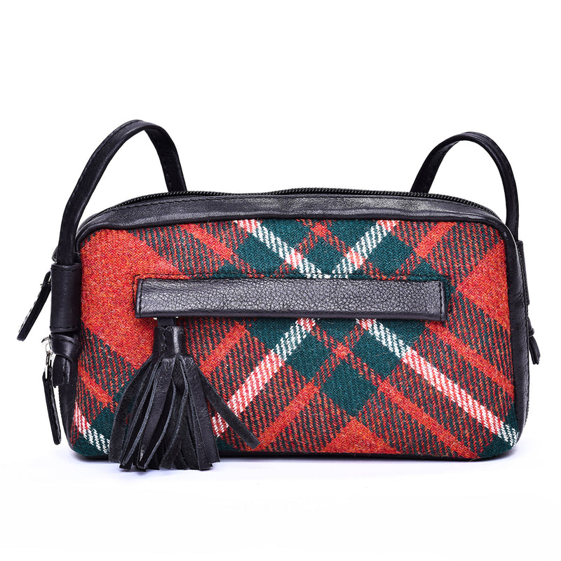 Cleo Bag in MacGregor Tweed and Leather - Luss General Store