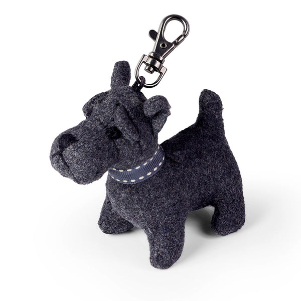 Mac the Scottie Dog Keyring - Luss General Store