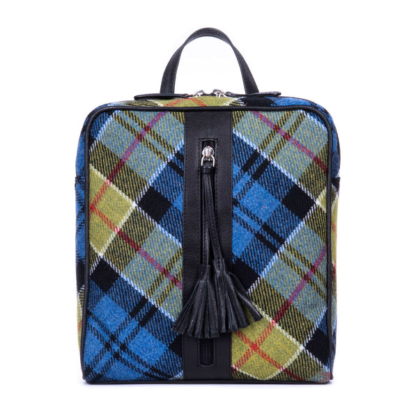 Molly Backpack in Ancient Colquhoun Tweed & Leather