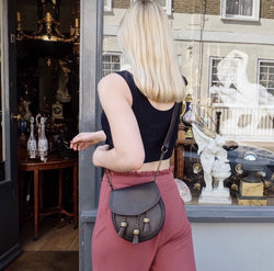 Chesterfield Brown Leather Sporran Bag (Nixey) - Luss General Store