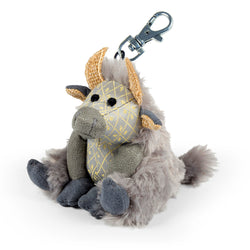 Posh Angus the Highland Cow Keyring - Luss General Store