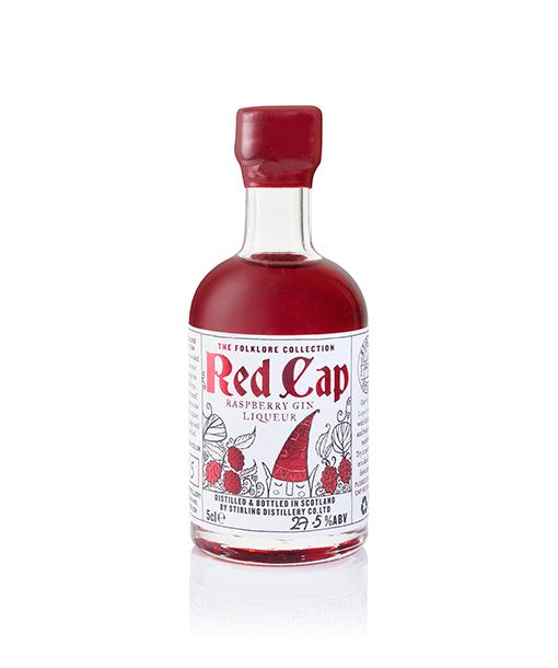 The Folklore Collection Red Cap Raspberry Gin Liqueur