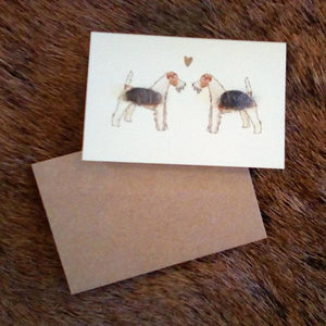 Mini Greeting Card - Deer/Stag