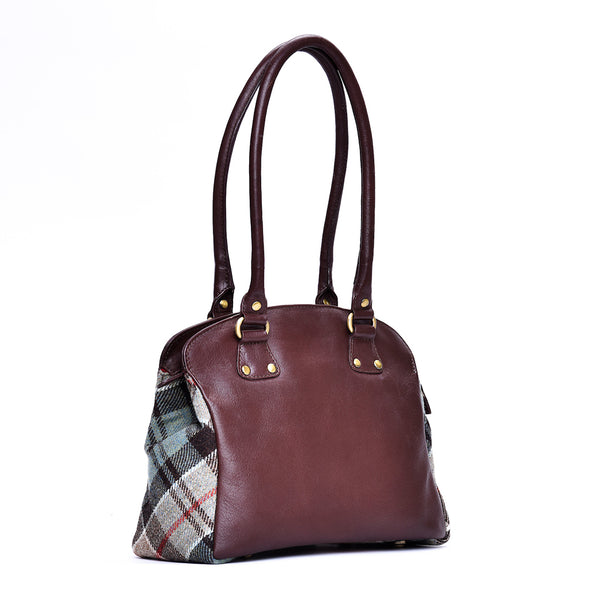 Gail Bag in Weathered Colquhoun Tweed and Leather - Luss General Store