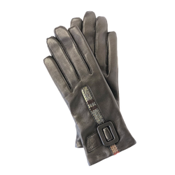 Manderson Gloves in Weathered Colquhoun Tweed and Leather - Luss General Store