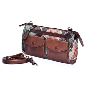 Ricky Bag in Weathered Colquhoun Tweed and Leather - Luss General Store