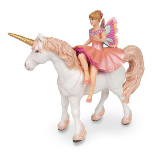 Elf Ballerina and Unicorn Figurines (Papo)