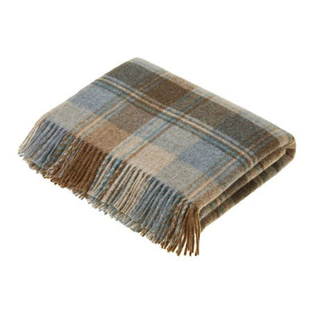Eau De Nil Throw Snowshill (Legacy Collection)