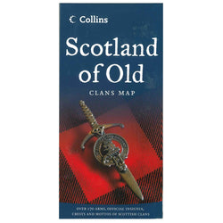 Collins Scotland of Old: Clans Map