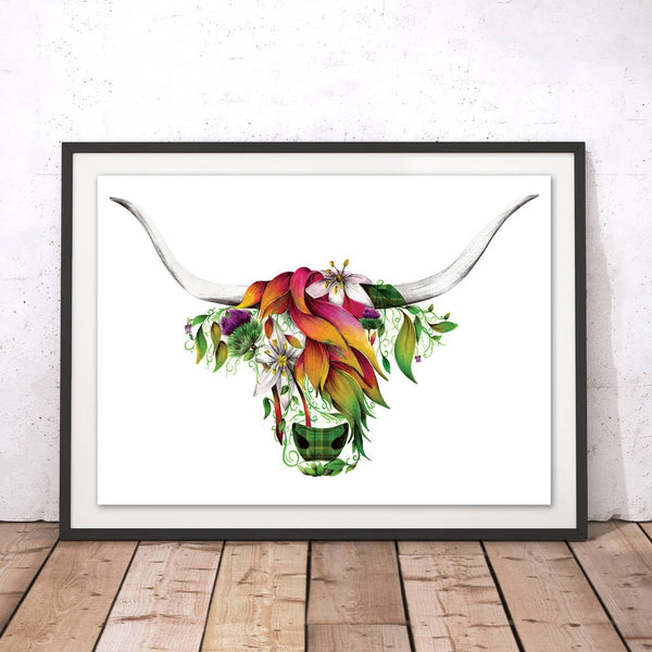 Ivy the Highland Cow Range by Kat Baxter