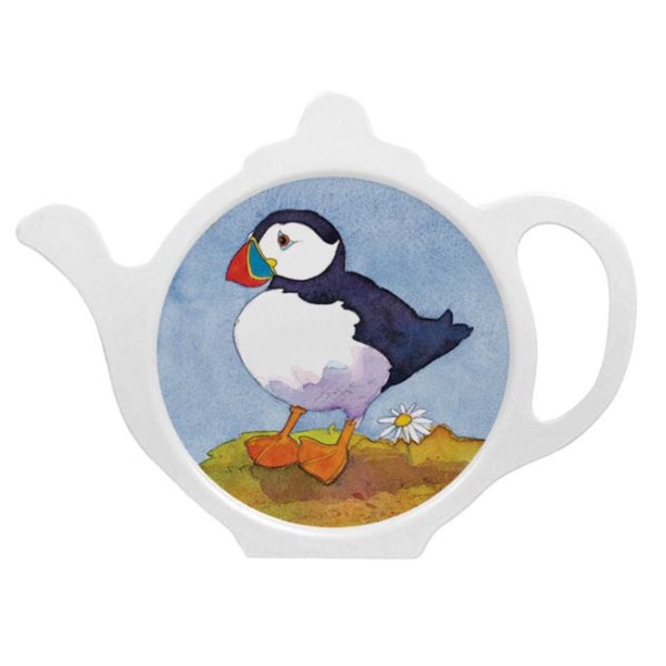Puffin Teabag Tidy by Emma Ball