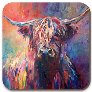 Highland Cow Range by Sue Gardner
