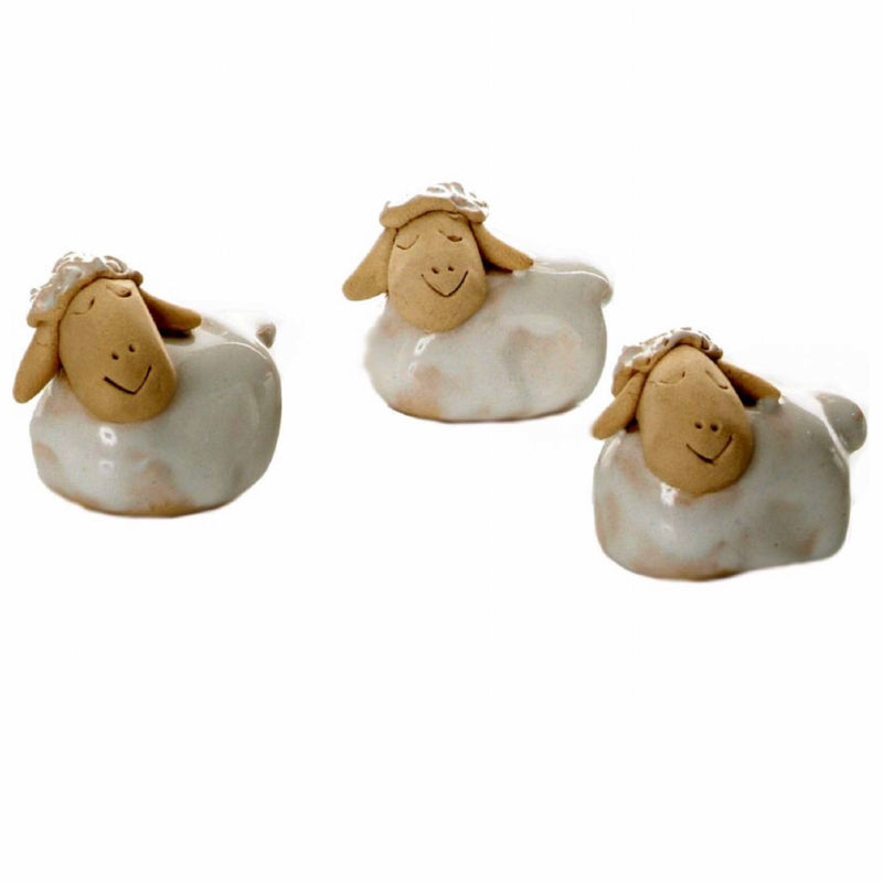 Mini Sheep Ceramic Sculpture