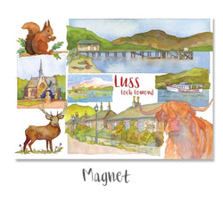 Luss Montage Magnet by Emma Ball