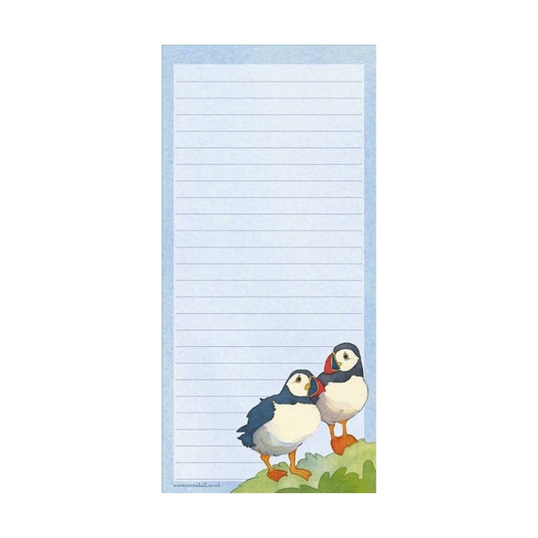 Puffin Magnetic Notepad by Emma Ball