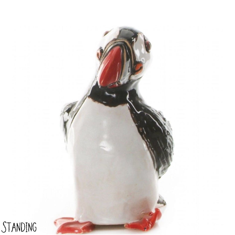 Puffin Ceramic Sculpture