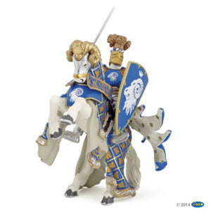 Blue Weapon Master Ram Horse