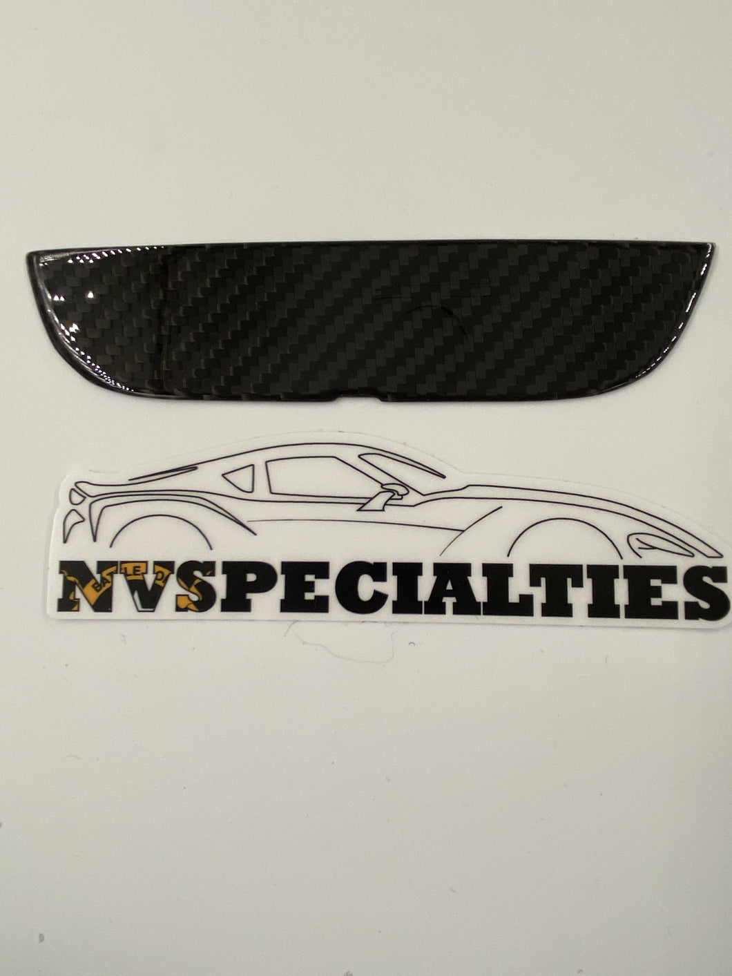 NV Spec. MKV carbon armrest inserts left & right