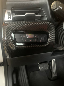 "NV Spec. MKV lower carbon dash panel ""left side"""