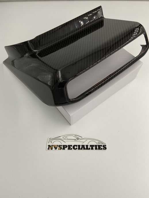 NV Spec. MKV carbon media player surround cover