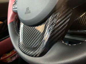 NV Spec. MKV carbon lower trim piece steering  wheel