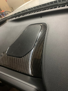 NV Spec. MKV carbon dash speaker surround