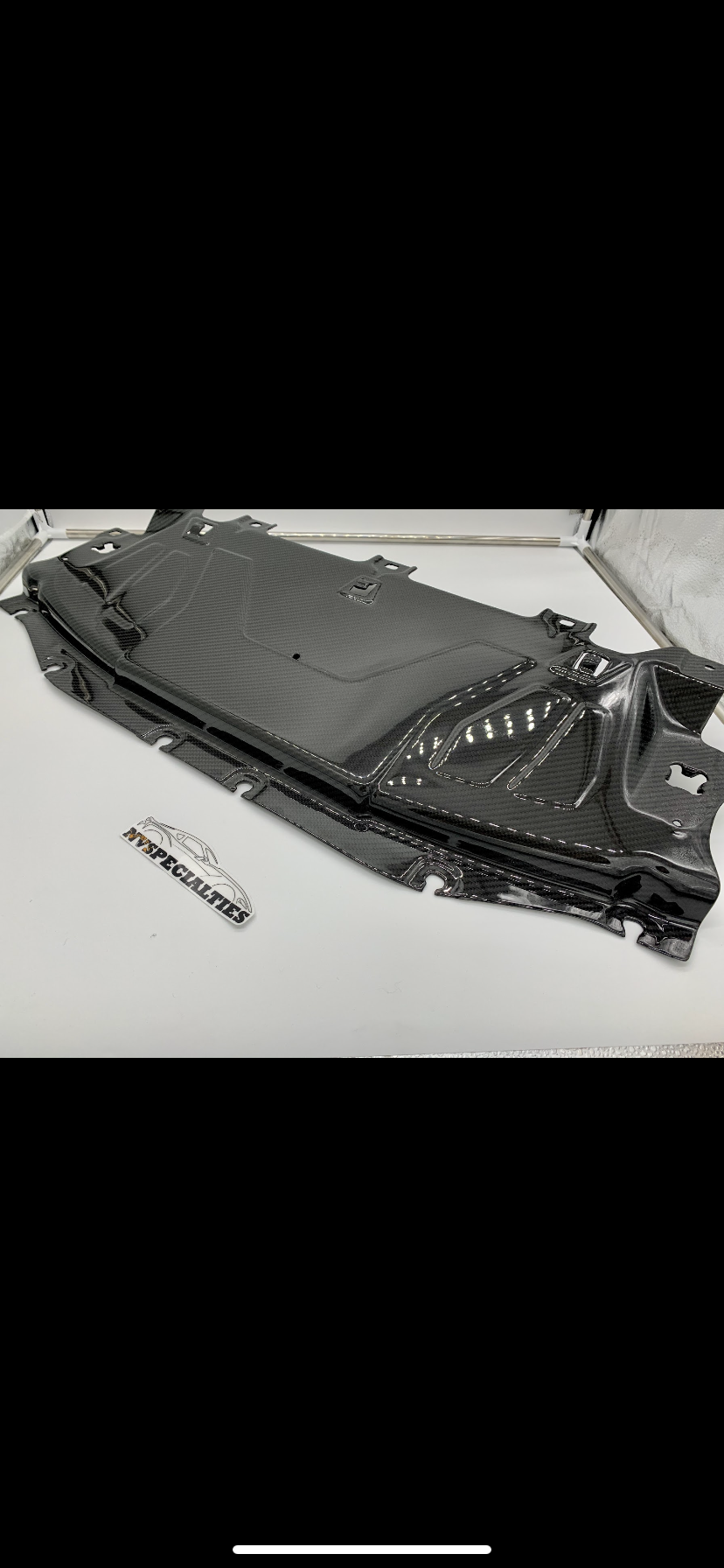 NV Spec. MKV Carbon Radiator Cover