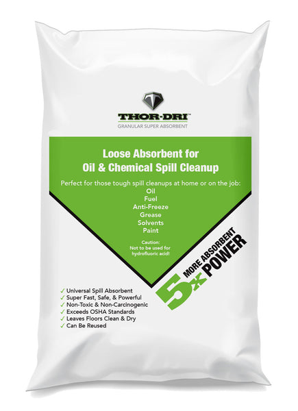 Thor-Dri Oil & Chemical Absorbent 30lb Bag