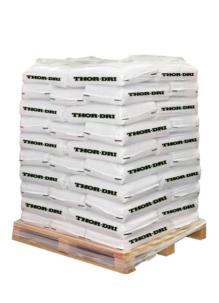 Thor-Dri Oil & Chemical Absorbent 48 Bags (30lbs ea.) Pallet
