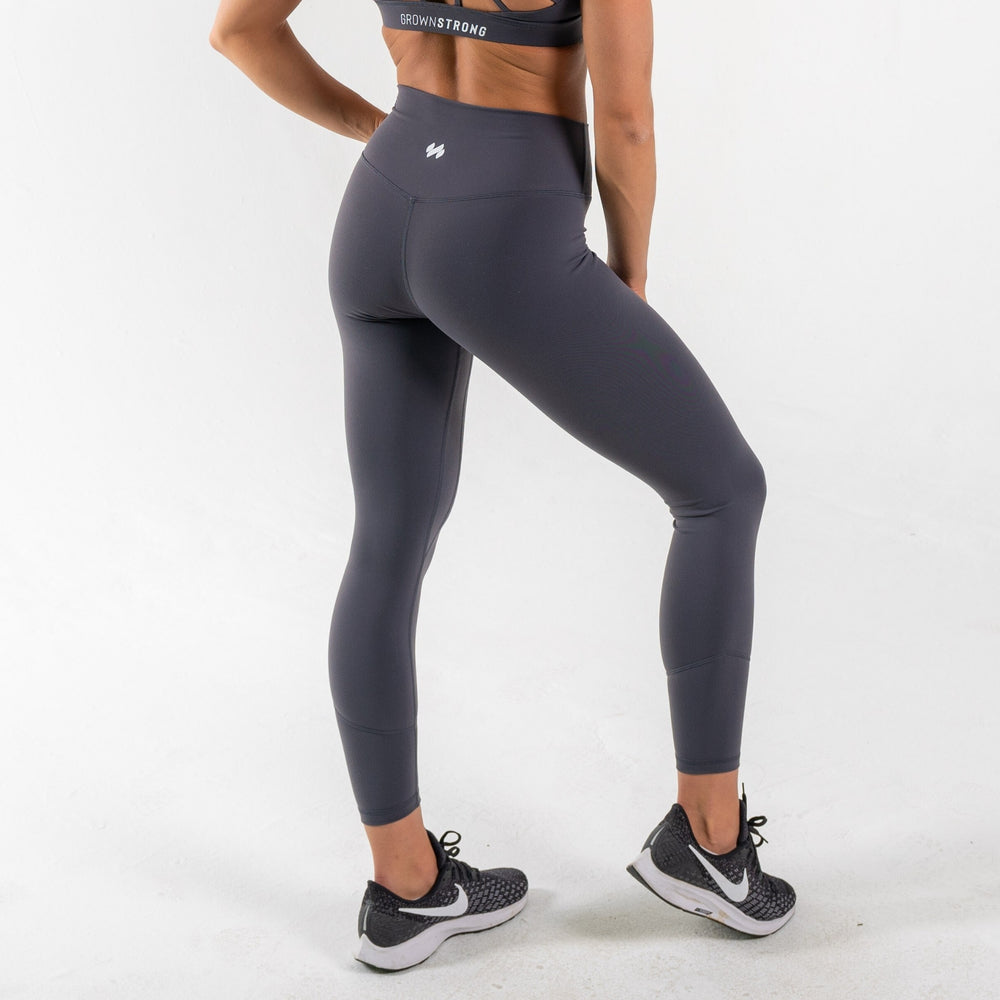 Limitless X Fearless Leggings - Gunmetal