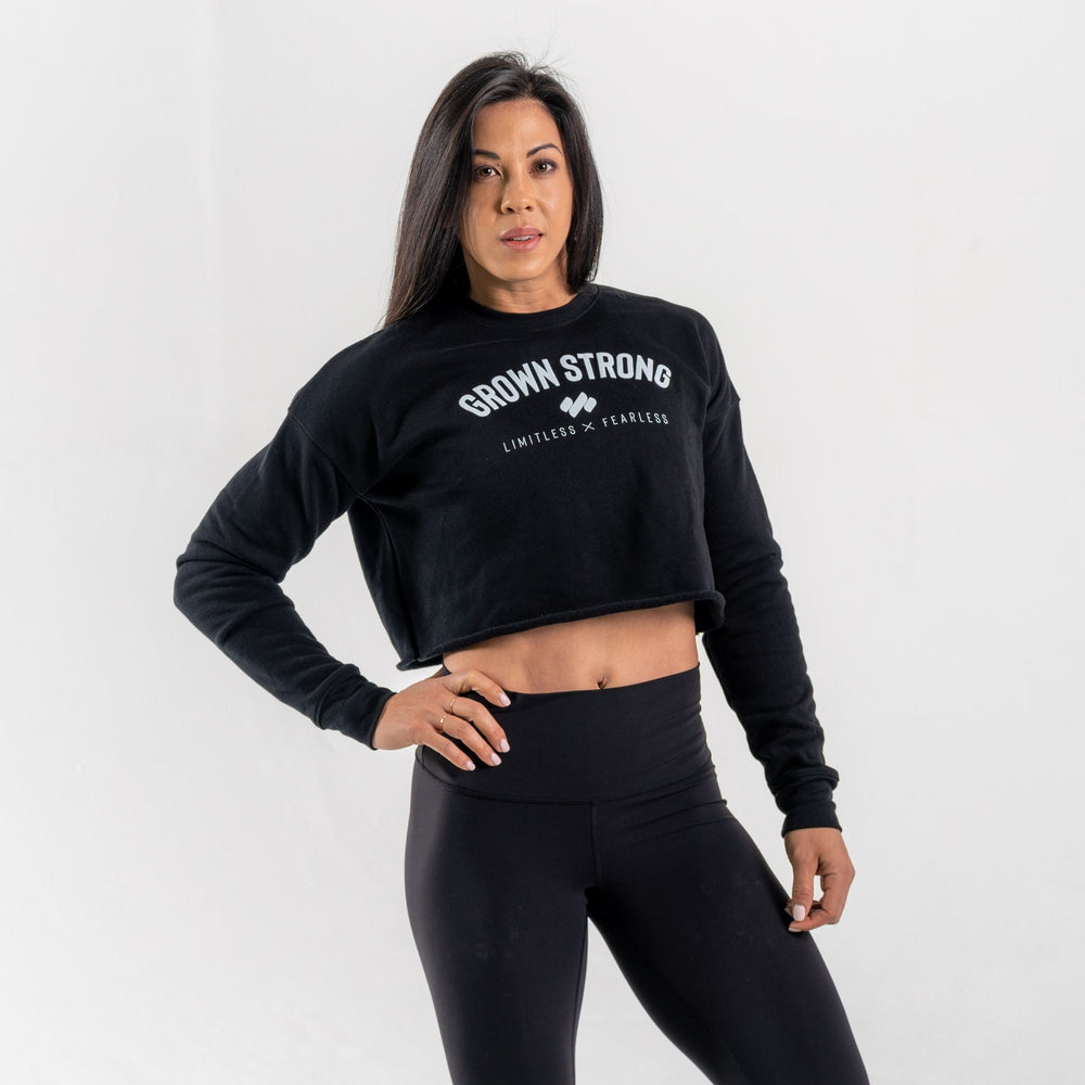 Limitless X Fearless Cropped Fleece
