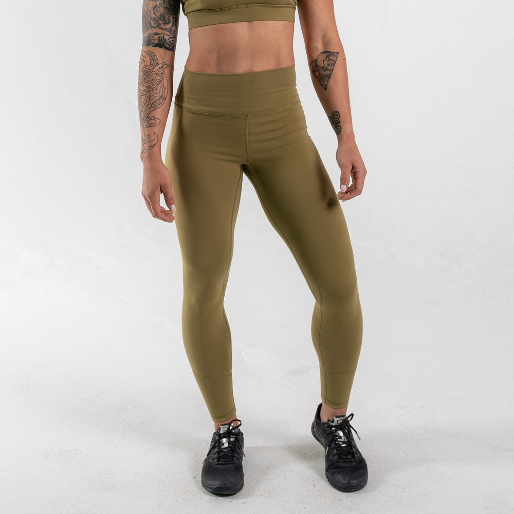 Limitless X Fearless Leggings - Olive
