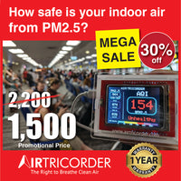 Air Tricorder: The Portable Real-time PM 2.5 AQI Monitor