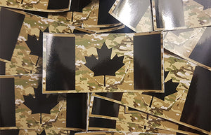 Canadian Flag Stickers