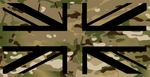3X5 Multicam Union Jack Flag